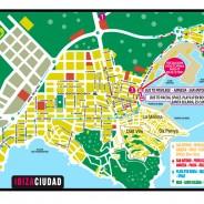 Mapa Ibiza Ciudad